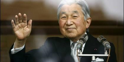El emperador de Japón, Akihito.