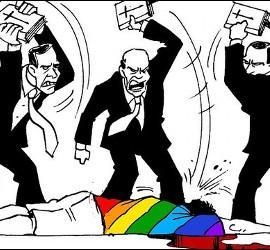 STOP homofobia