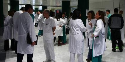 Profesionales de la sanidad en Castilla y León