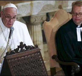 Francisco y un luterano