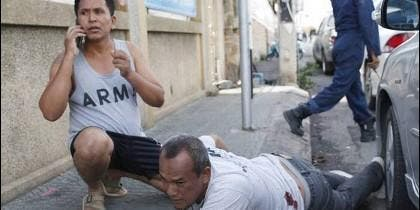 Heridos en los atentados terroristas de Tailandia.