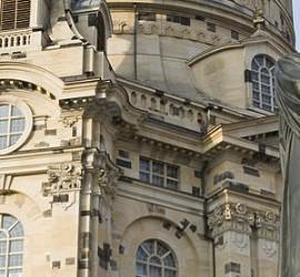 Estatua de Lutero en Dresde, Alemania