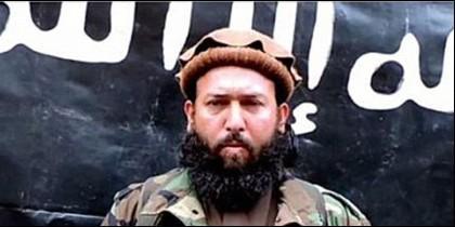 El terrorista islámico y jefe del ISIS, Omar Zakhilwal.
