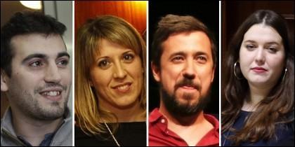 Líderes de Podemos Galicia a la greña.