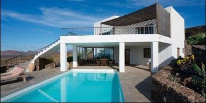 La casa de Justin Bieber está en Lanzarote.