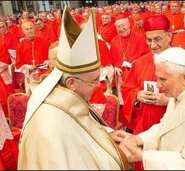 Benedicto, Francisco y los cardenales