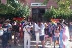 Besada protesta ante el Obispado
