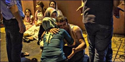 Víctimas del atentado islamista en Turquía.