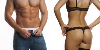 Dieta, salud, sexo, ejercicio y pareja.