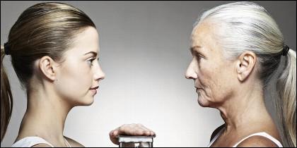 Edad, vejez, jubilación, pensiones, dieta y antiaging.