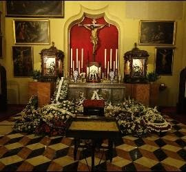 Capilla ardiente de Casamayor