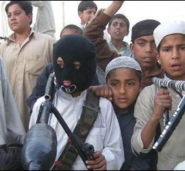 Terrorismo islámico, niños fanáticos y los taliban.