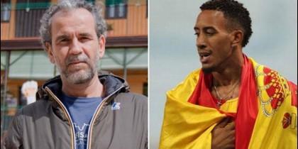 Willy Toledo y Orlando Ortega.