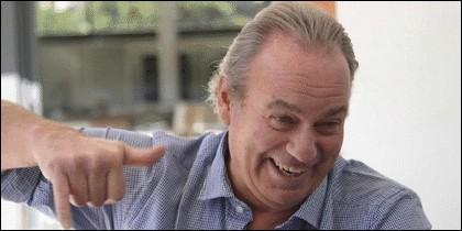 Bertín Osborne, cantante y presentador de TV.