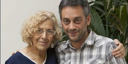 Manuela Carmena y Xulio Ferreiro.