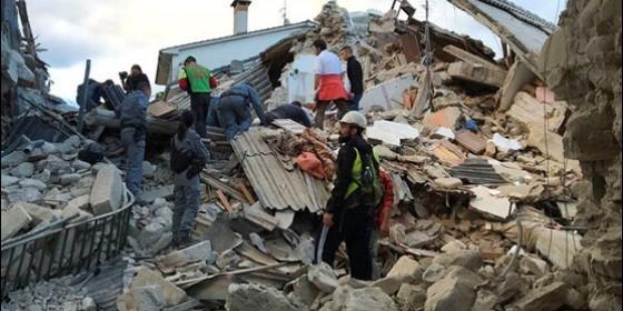 Terremoto en Amatrice (Italia).