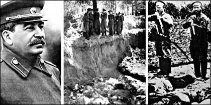 Stalin y el Gulag soviético.