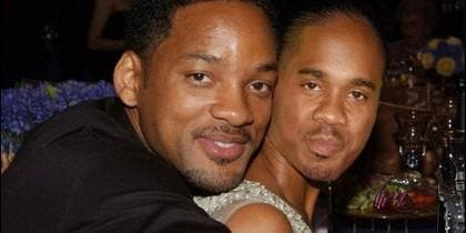 Will Smith con su amigo Duane Martin.
