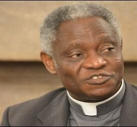 Cardenal Turkson, nuevo prefecto del dicasterio de desarrollo humano integral