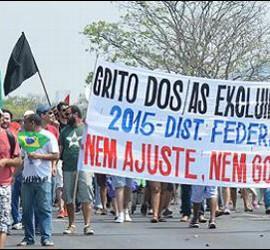 Grito de los Excluidos en Brasil