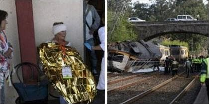 Accidente del tren en Porriño.