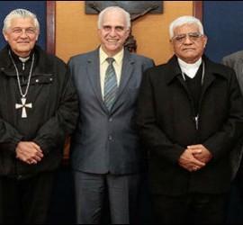 Cipriani y los nuevos rectores de la PUCP