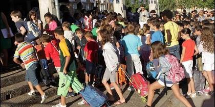 Inicio sin incidencias del nuevo curso escolar en Castilla y León