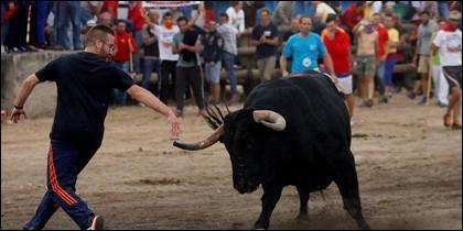 El primer 'Toro de la peña'.