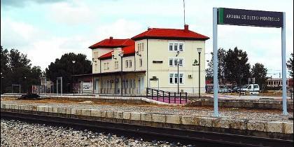 Estación ferroviaria de Aranda de Duero