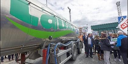 Movilización contra los planes de la empresa de finiquitar Lauki