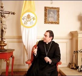El NUncio y el Presidente de Colombia