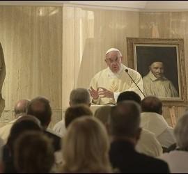 El Papa, en su homilía de esta mañana en Santa Marta
