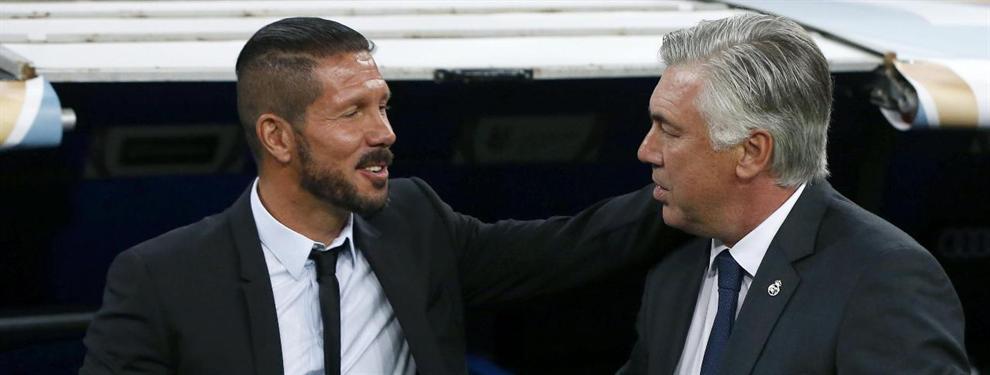 El zasca (amistoso) de Carlo Ancelotti al Cholo Simeone