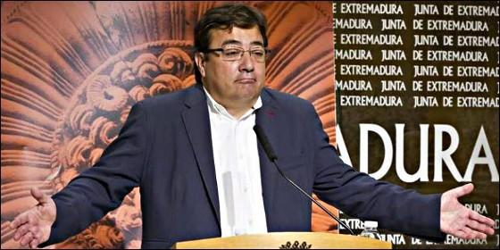 Guillermo Fernández Vara (PSOE).