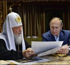 Kiril, con el presidente Putin