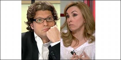 Fernando Berlín y Angélica Rubio.
