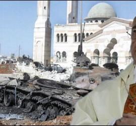 Francisco, contra la guerra en Siria