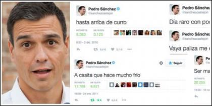 Pedro Sánchez, todo un 'tuit star'.
