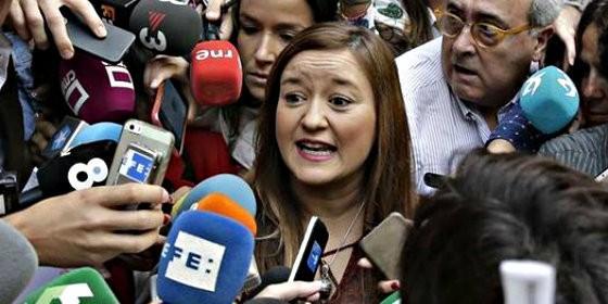 Verónica Pérez, presidenta del Comité Federal del PSOE.