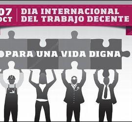 Día Internacional de Trabajo Decente