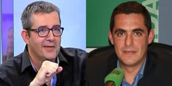 Máximo Pradera y Antonio Naranjo.