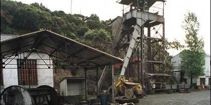 Imagen de una de las explotaciones mineras en la comunidad
