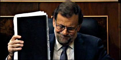 Mariano Rajoy en el Congreso (PP).