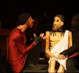 Representación de 'El misterio del Cristo de los Gascones', en la Catedral de León