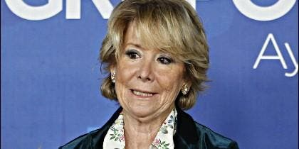 Esperanza Aguirre (PP).