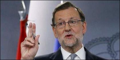 Mariano Rajoy, presidente del Gobierno (PP).