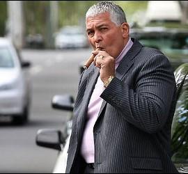 El gángster Mick Gatto, cliente del abogado de Pell