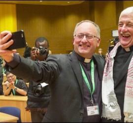 Selfie de Spadaro con el nuevo general