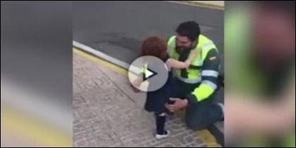 El guardia civil y su hija