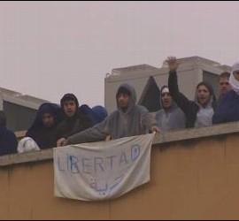 Protestas en el CIE de Aluche